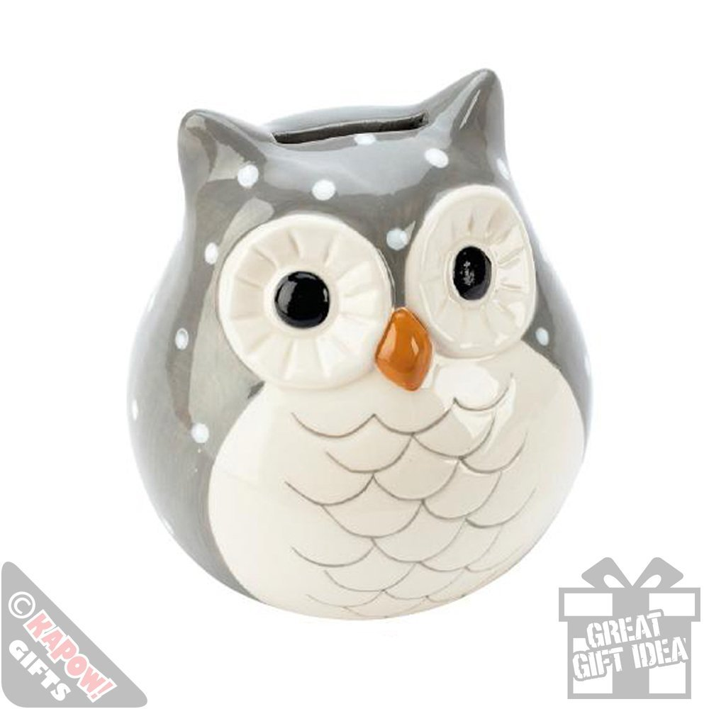 Save Your Money In This Cute Owl Ceramic Money Box Owl